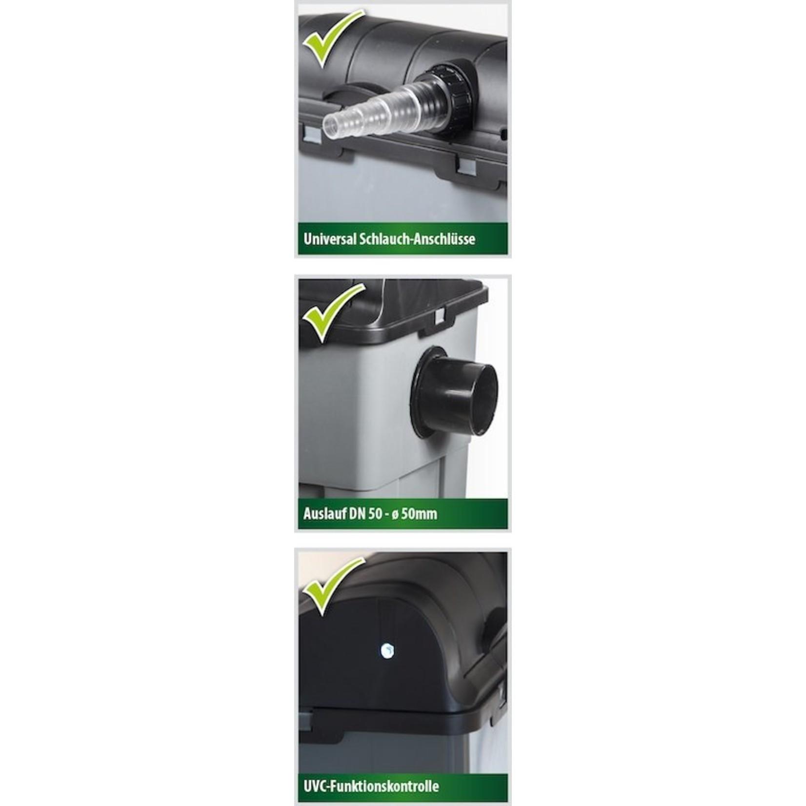 Heissner Vijver doorloopfilter set 3300 ltr/u