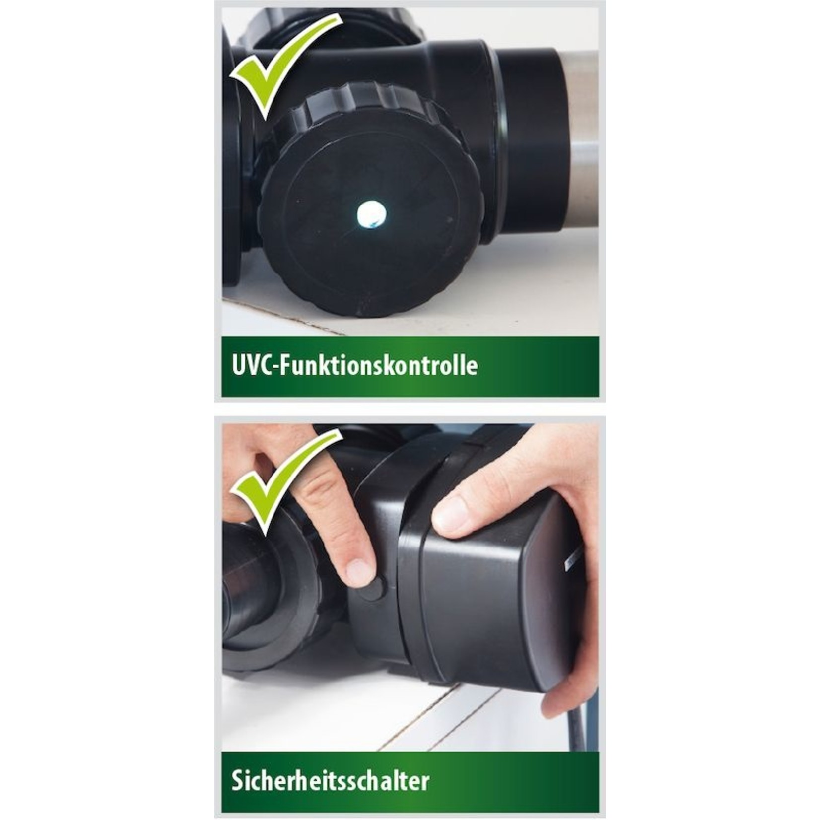 Heissner Vijver waterzuiveringsapparaat 18W