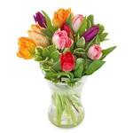 Boeket Kleurrijk tulpenboeket