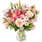Boeket Roze bloemistenboeket