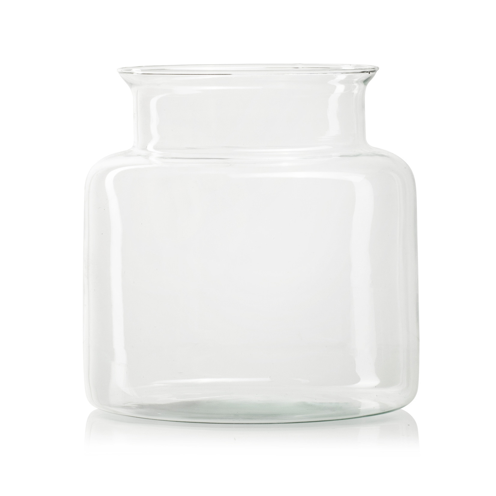 Jodeco Glass Eco vaas 'Esther'