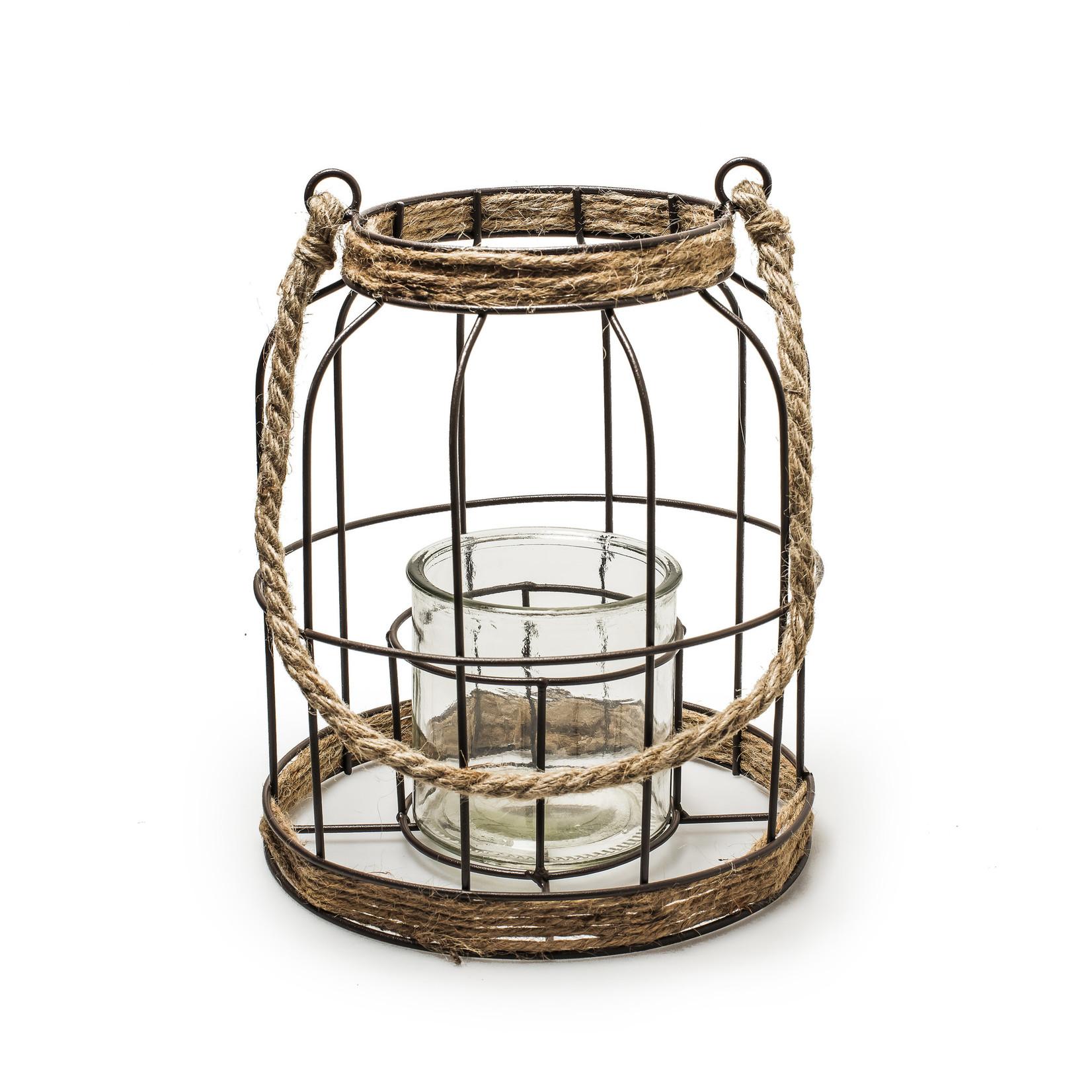 Jodeco Glass Lantaarn 'Livia'