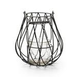 Jodeco Glass Metalen lantaarn 'Mayson'