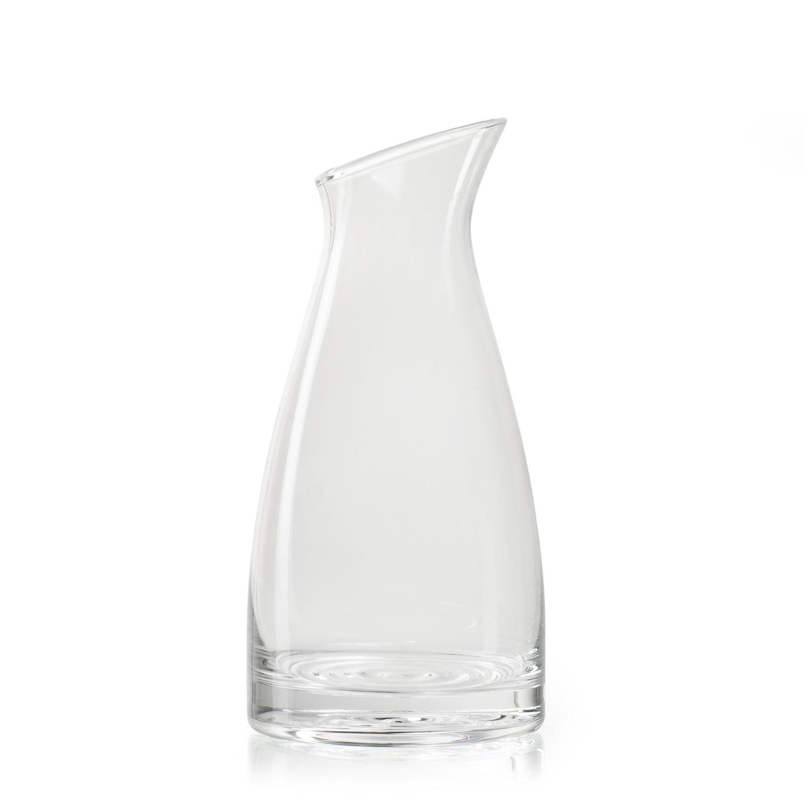 Jodeco Glass Karaf 'Vasil' 1L H25 D12 cm Transparant