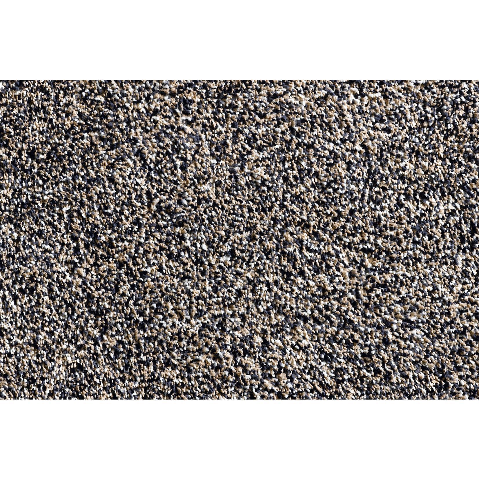 Hamat Aqua-Luxe wasbare mat 60x100cm Graniet