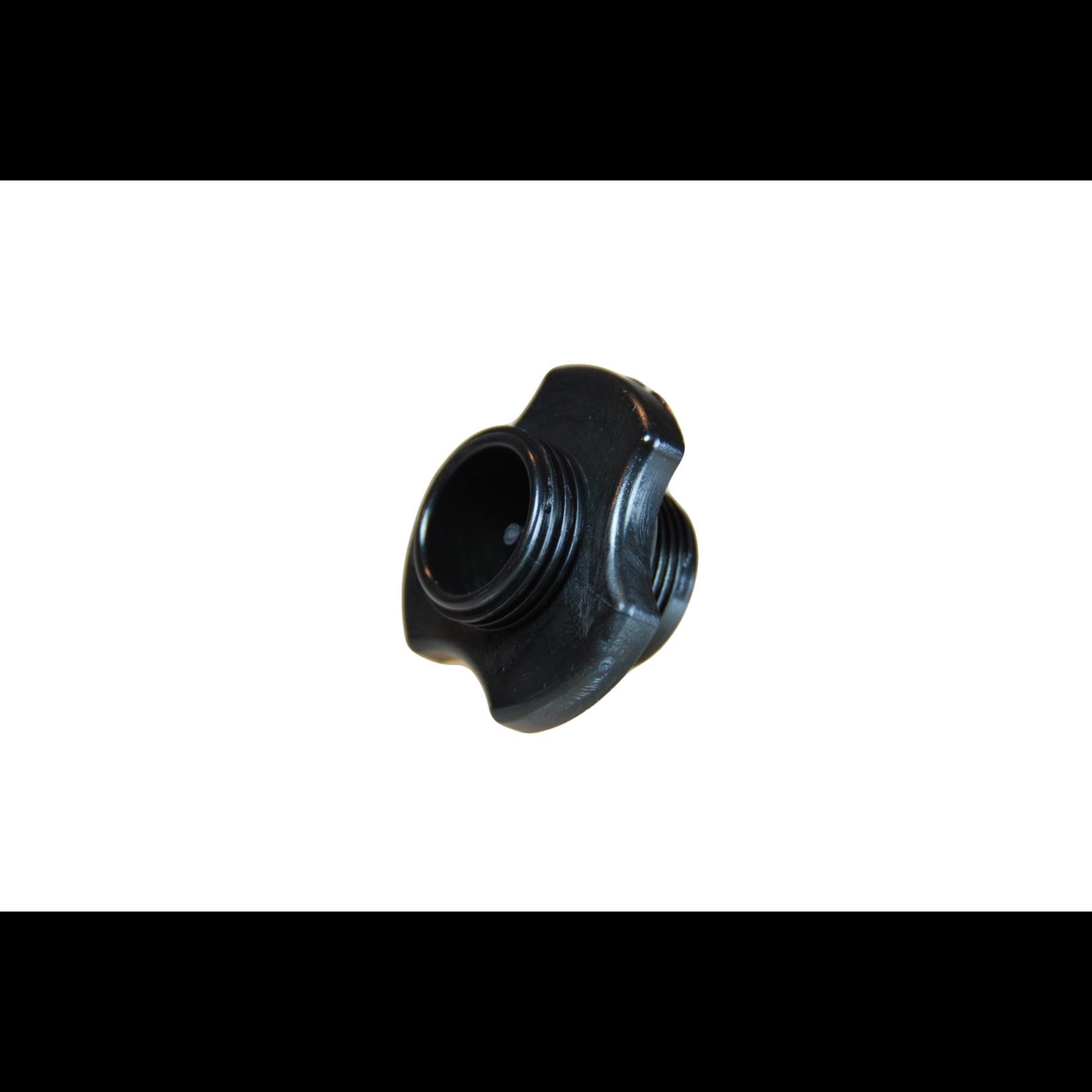 Zodiac Delrin valve and cap black
