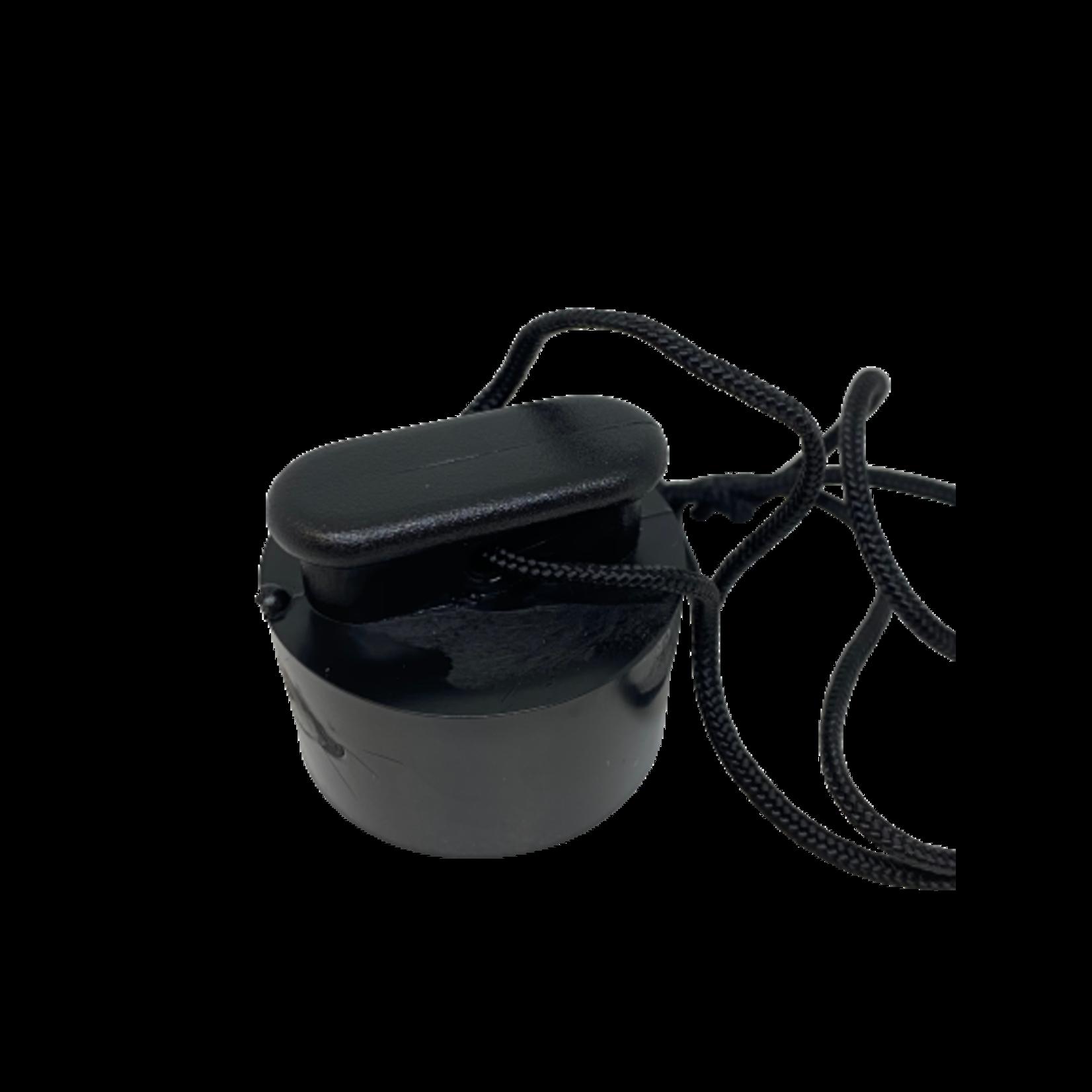 Zodiac Selfbailer drain plug black