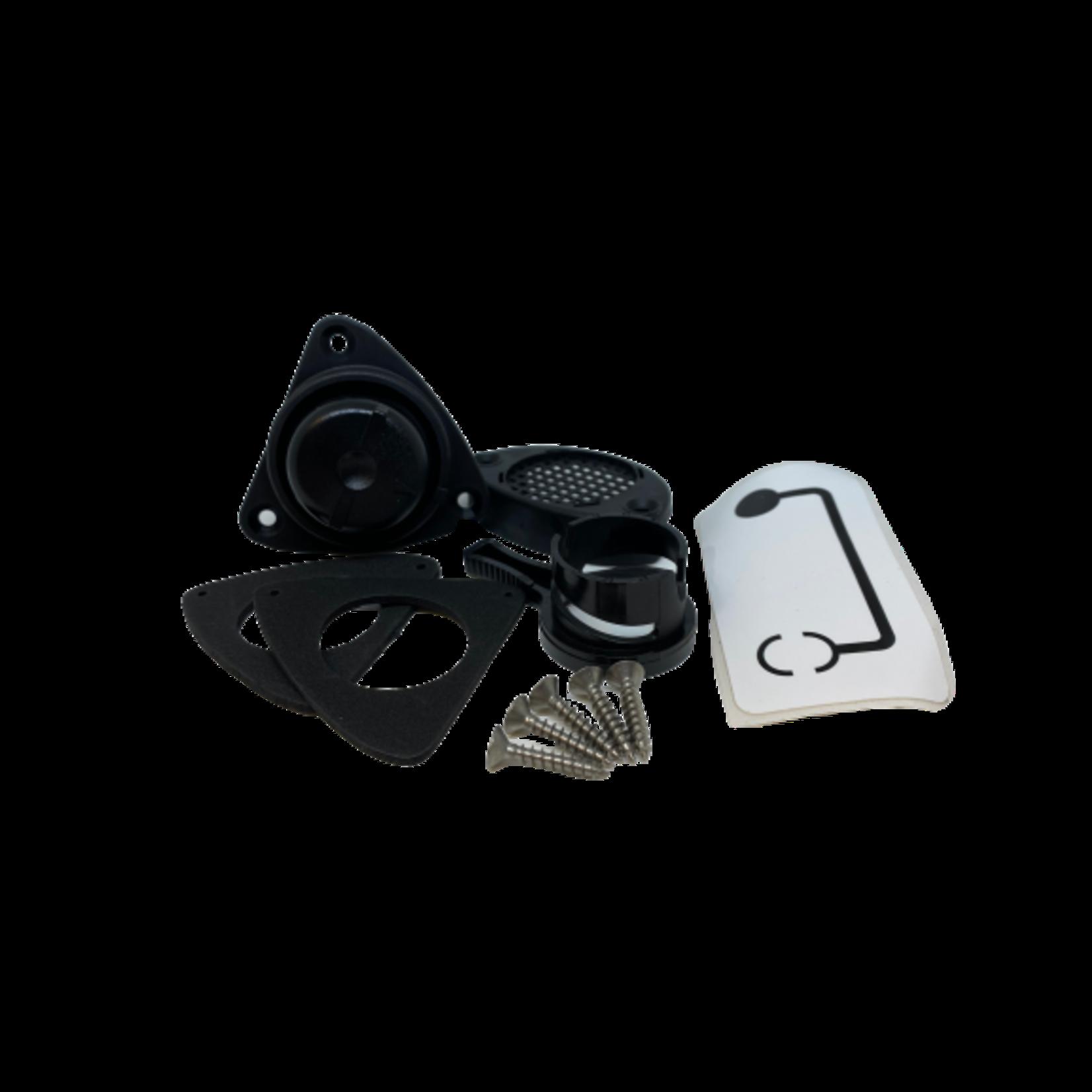 Zodiac Selfbailer kit complete black - slide type