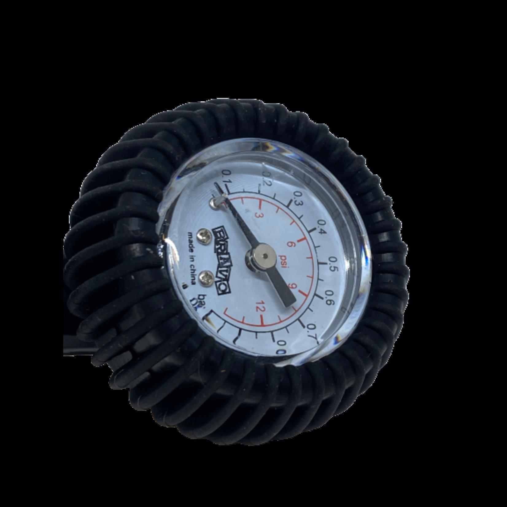 Scoprega Pressure gauge up to 1 bar including adapterkit