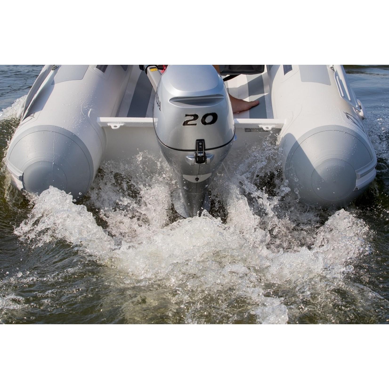 Zodiac Cadet 390 DL ALU RIB - Deck & Locker (3.93 mtr.)