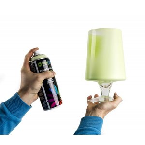 FLORALIFE® Aqua Colors Acryl Decoratie Spuit Verf op Waterbasis | Crème | 400 ml Spuitbus
