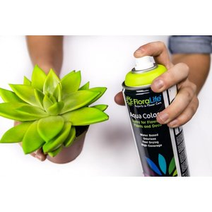FLORALIFE® Aqua Colors Acryl Decoratie Spuit Verf op Waterbasis | Helderrood | 400 ml Spuitbus