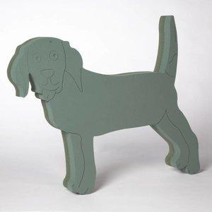 OASIS® FOAM FRAMES® OASIS® FOAM FRAMES® Steckschaum Hund Steh 61 x 52 cm