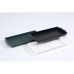 OASIS® FLORAL PRODUCTS OASIS® Brick Tray Weiß 26 x 12,5 x 2 cm