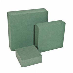 OASIS® FLORAL FOAM OASIS® IDEAL Steckschaum Quadrat Cake Medi 15 x 15 x 4 cm