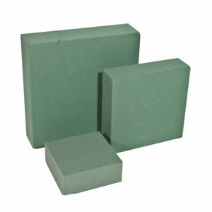 OASIS® FLORAL FOAM OASIS® IDEAL Steckschaum Quadrat Cake Mini 10 x 10 x 4 cm