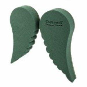 OASIS® BIOLINE® OASIS® BIOLINE® Steckschaum Flügel 25,5 x 28 x 3,5 cm