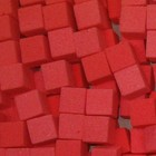OASIS® RAINBOW® Mini Cubes Baroque Red  2 x 2 x 2 cm