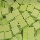 OASIS® RAINBOW® Mini Cubes Lime Green 2 x 2 x 2 cm