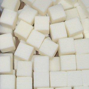 OASIS® RAINBOW® OASIS® RAINBOW® Steekschuim Mini Cubes Ivory 2 x 2 x 2 cm 300 Stuks