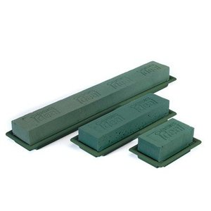 OASIS® FLORAL FOAM OASIS® Table Deco Medi | Grün | 25x9x5cm | 8 stück
