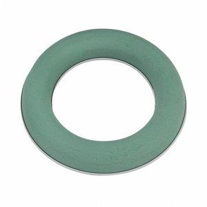 OASIS® FLORAL FOAM OASIS® IDEAL Steckschaum Ring / Kranz Ø 25 x 3,5 cm