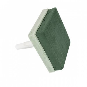 OASIS® ECObase® OASIS® ECObase® Steekschuim LADY Vierkant 14,5 x 14,5 x 4,5 cm + 12 cm