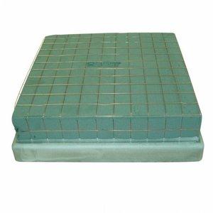 OASIS® ECObase® OASIS® ECObase® Steekschuim Cushion Medi 28 x 28 x 10 cm