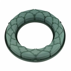 OASIS® FLORAL FOAM OASIS® IDEAL Steekschuim Universal Ring / Krans Ø 18 x 4 cm