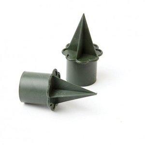 OASIS® FLORAL PRODUCTS OASIS® Kaarshouder Candleholder | Ø2.5cm x 6cm hoog (2.5cm houder, 3.5cm steek)