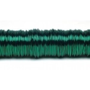 H&R Deco Lak Draad op Houten Klos Groen Ø0,50mm x50m | 100g