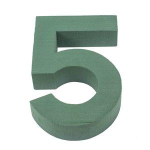 OASIS® FLORAL FOAM Cijfer 5 - 30cm | 1st