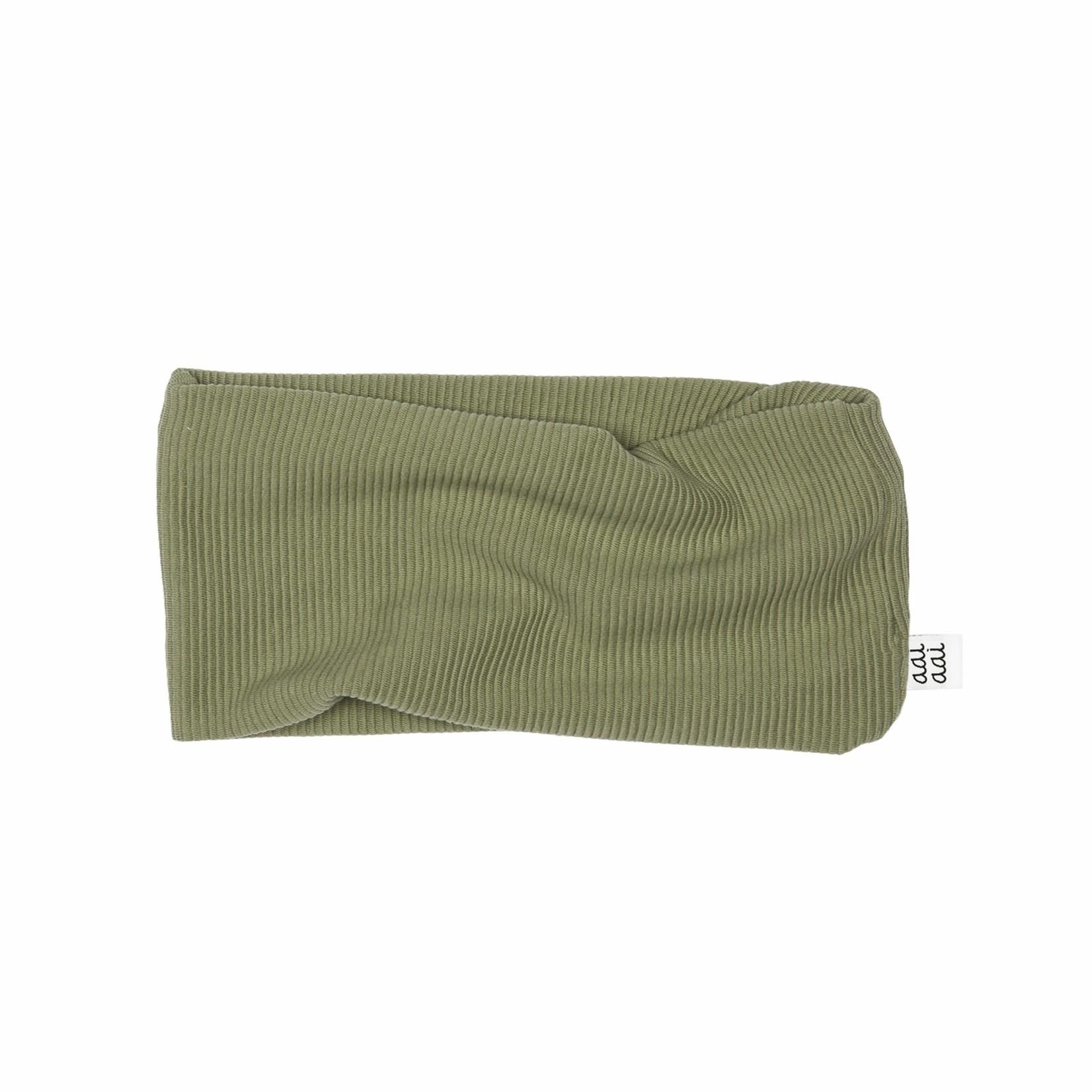 AAI AAI RIB sjaal (Olive)