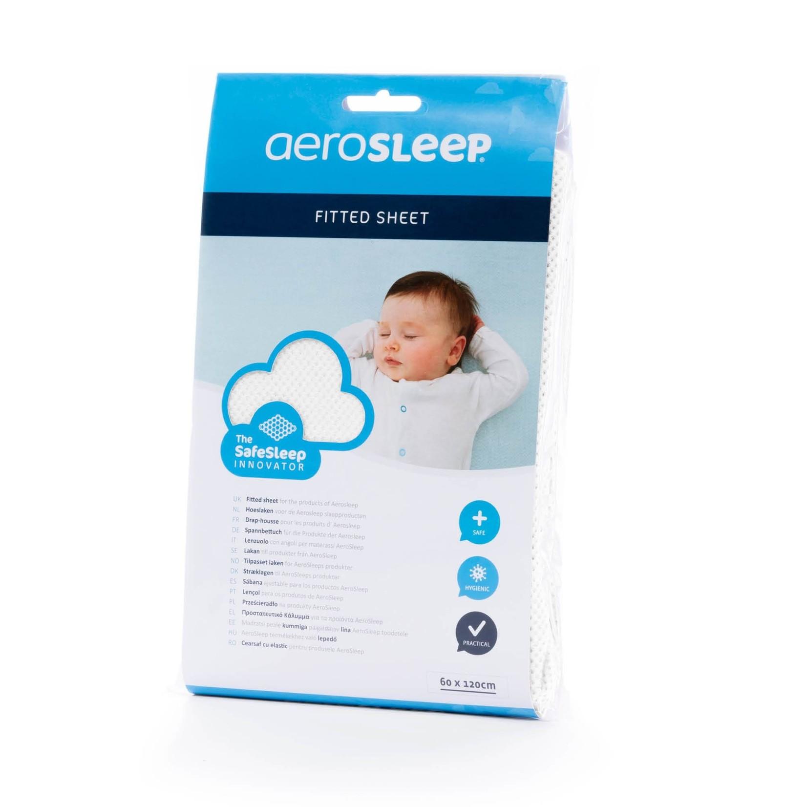 AeroSleep SafeSleep Hoeslaken (Wit)