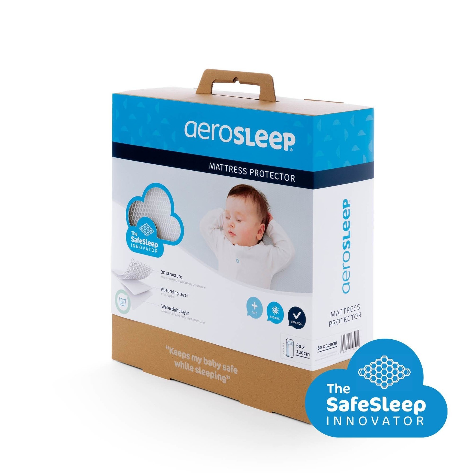 AeroSleep SafeSleep 3D Matrasbeschermer