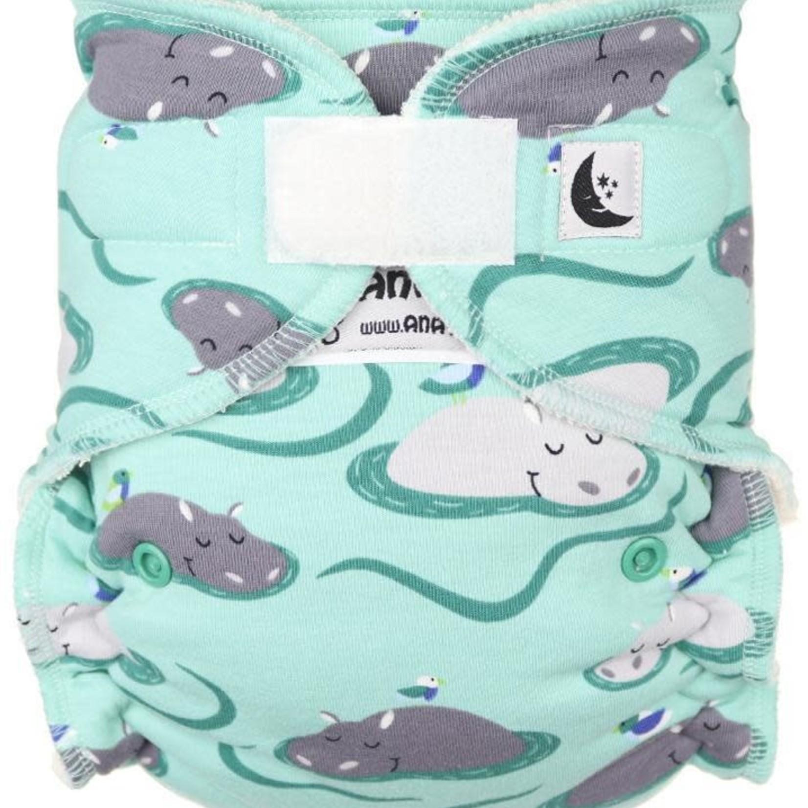 Anavy Nachtluier (Maxi XL) VELCRO - Hippos