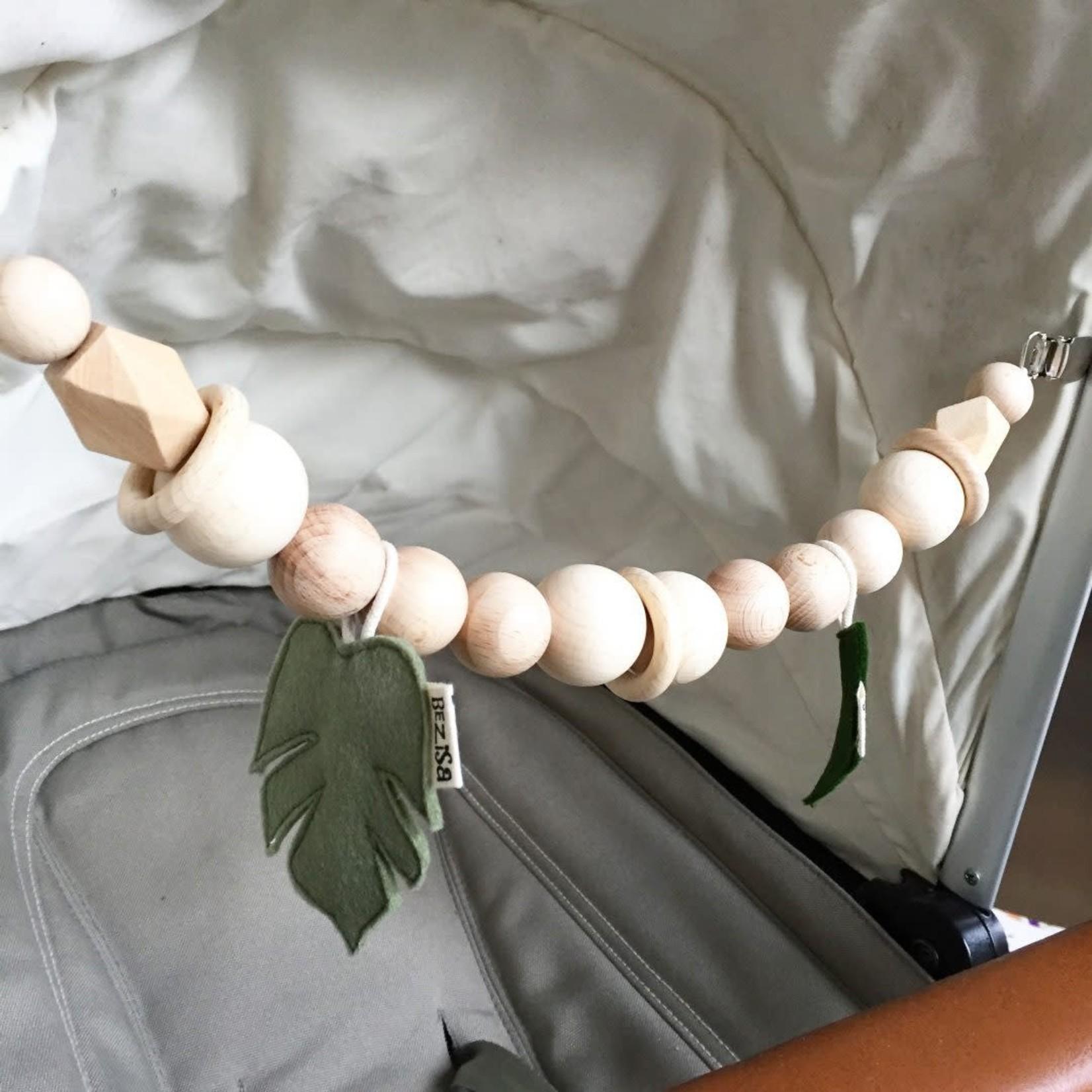 BEZISA Wagenspanner Leaves (Pistache Green)