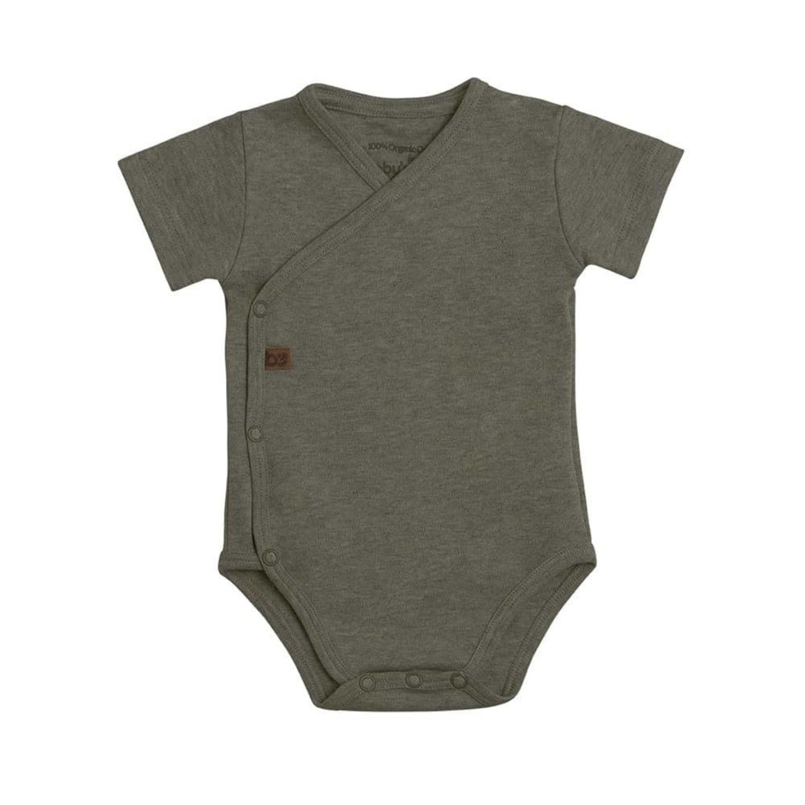 Baby's Only Romper korte mouw Melange (Khaki)