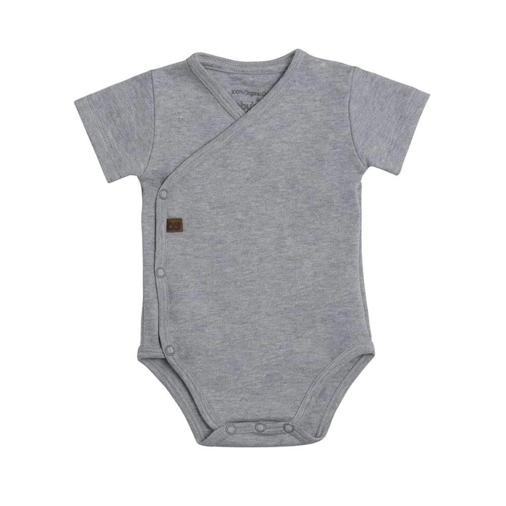 Baby's Only Romper korte mouw Melange (Grijs)