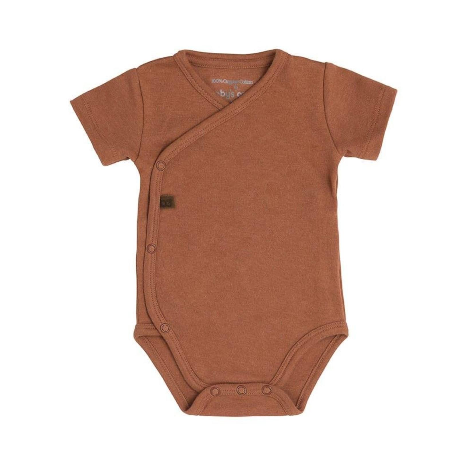 Baby's Only Romper korte mouw Melange (Honey