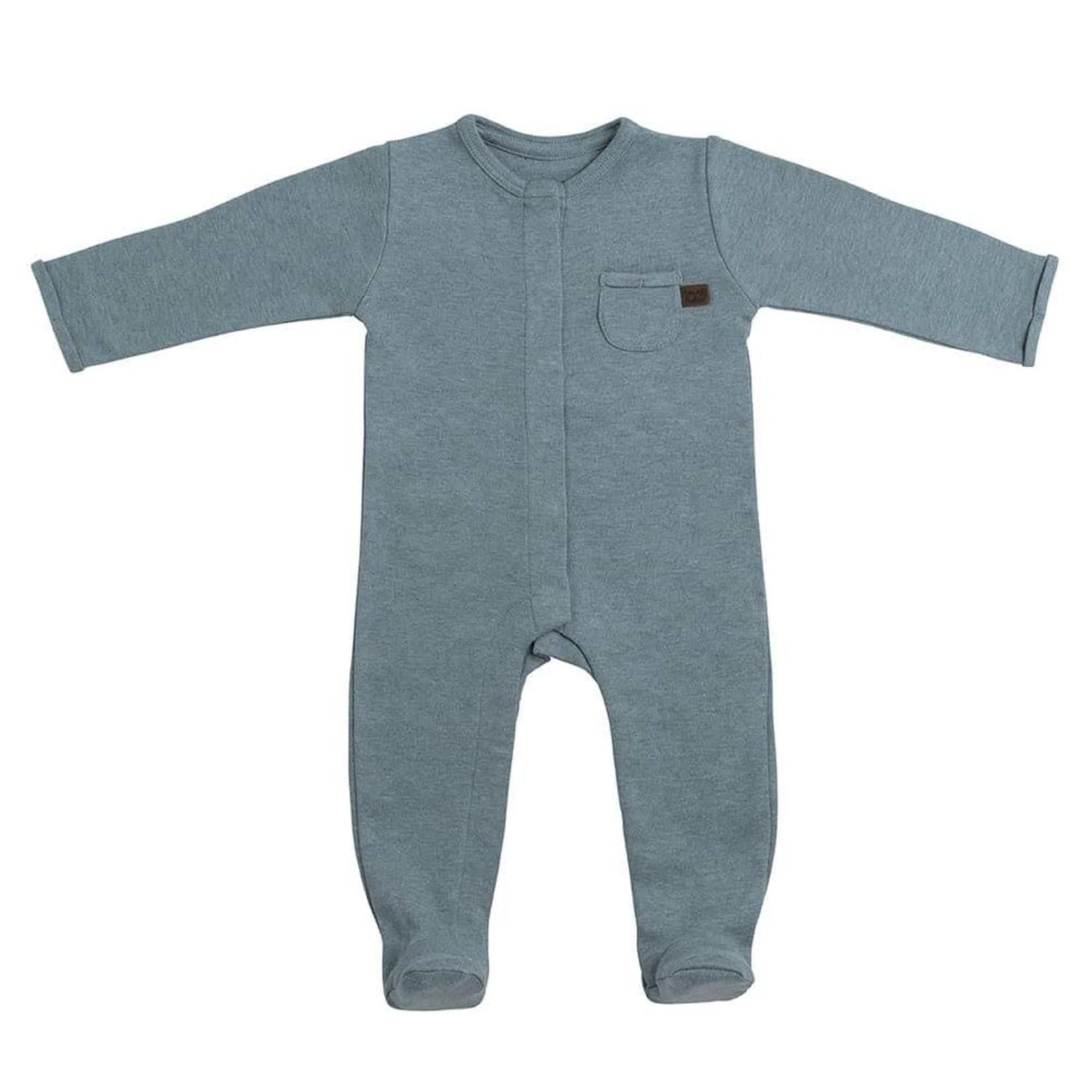 Baby's Only Boxpakje met voetjes Melange (Stonegreen)