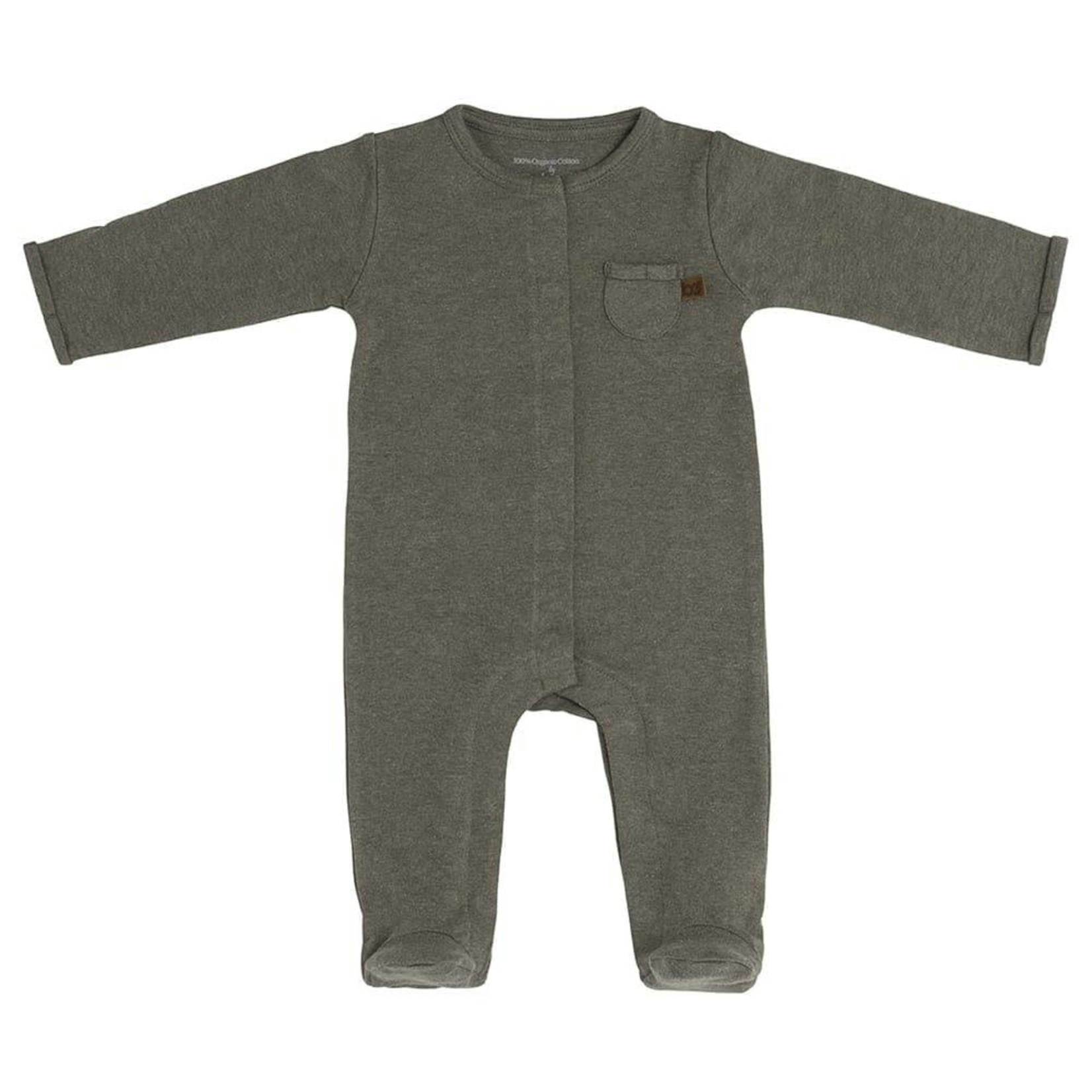Baby's Only Boxpakje met voetjes Melange (Khaki)