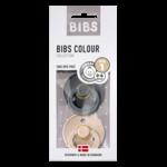 BIBS Fopspeen natuurrubber Iron/Blush