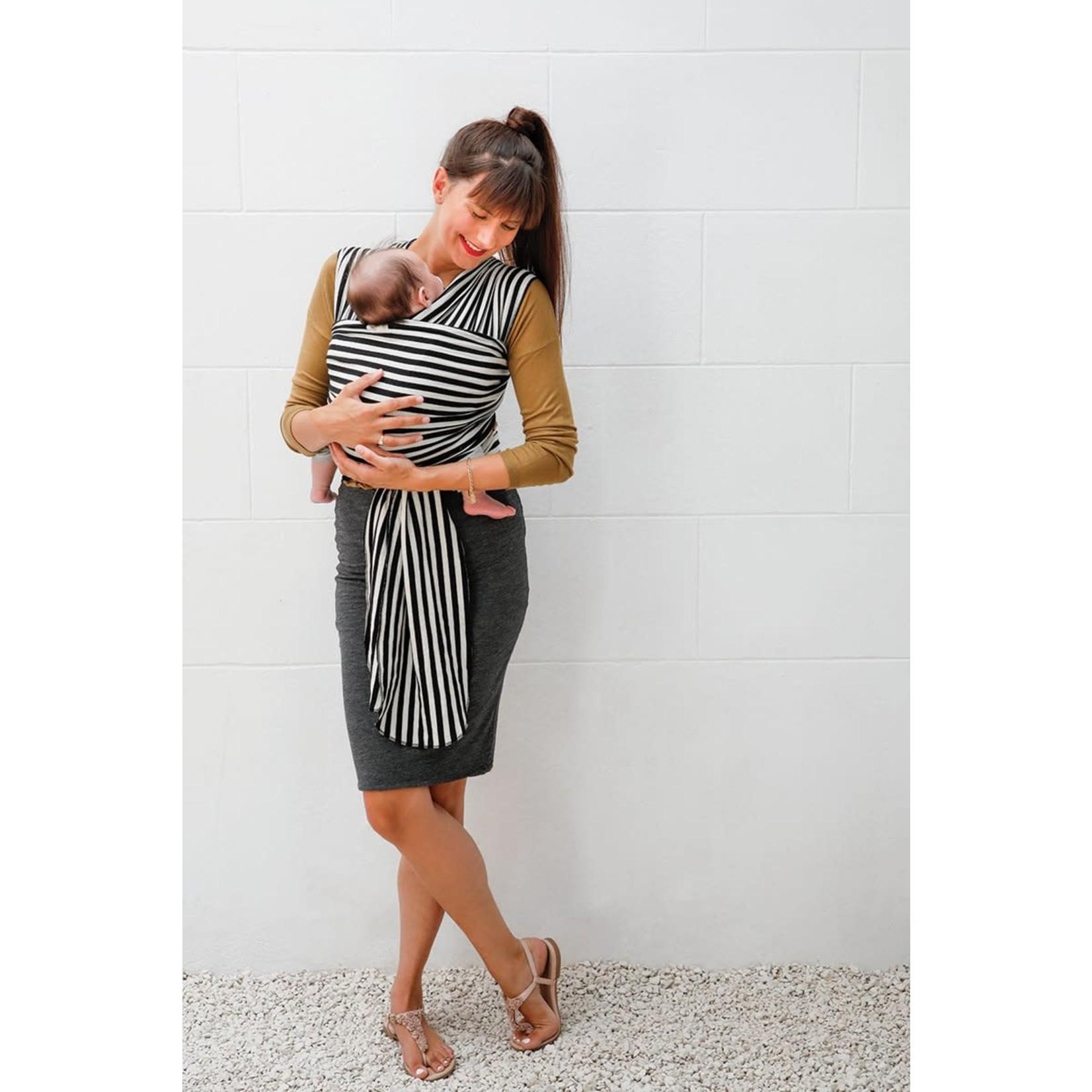 Babylonia Tricot-Slen Design (Black & white stripes)