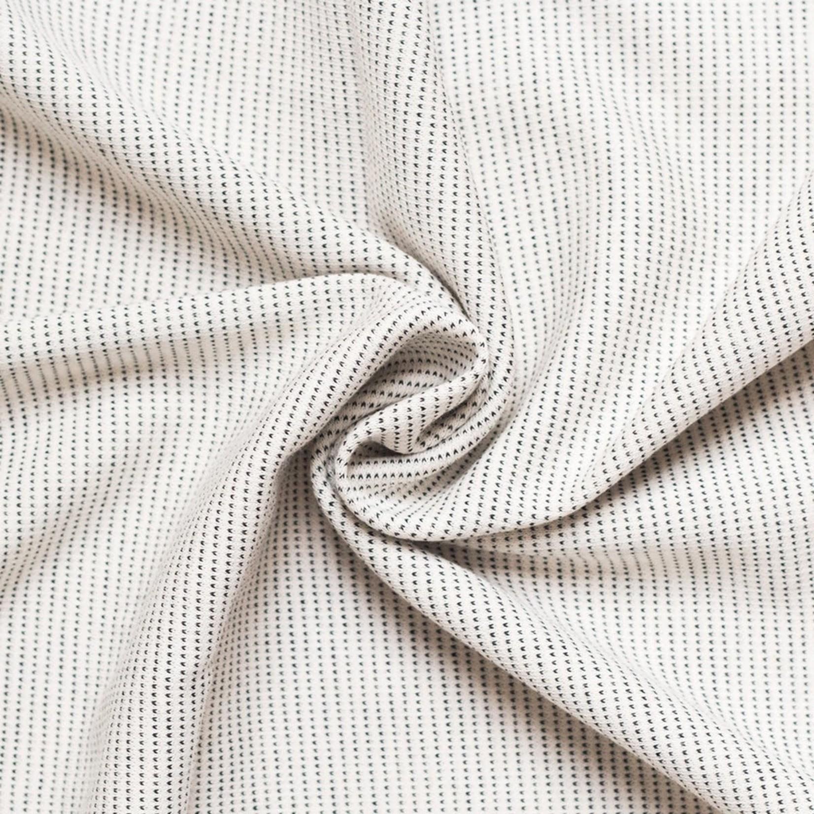 Babylonia Tricot-Slen Design (White Stipple)
