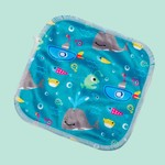 Cheeky Wipes 25 wasbare doekjes bamboe minky (Whale of a time)