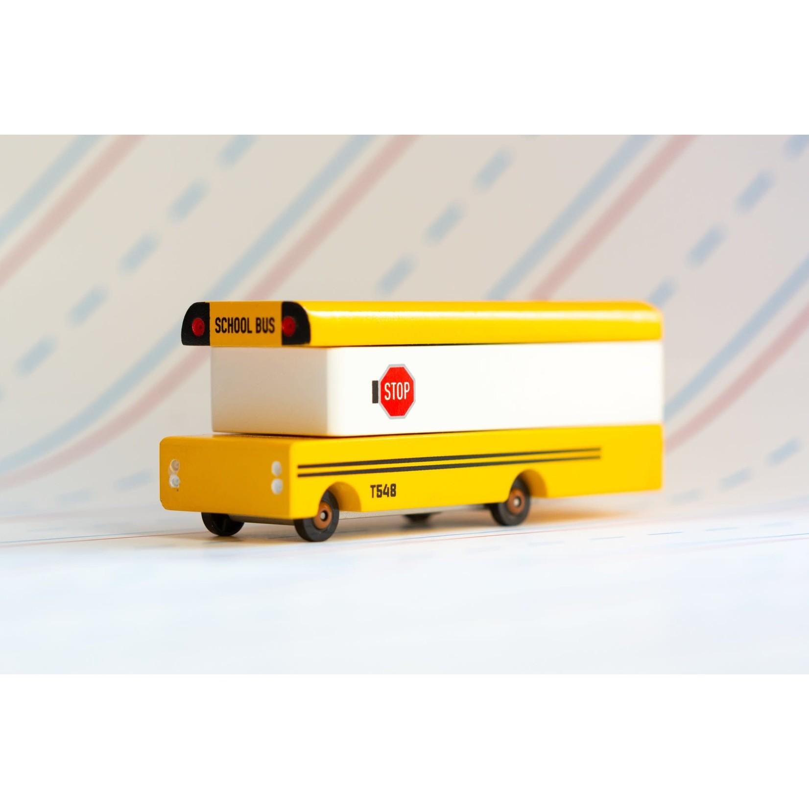 Candylab Toys School Bus