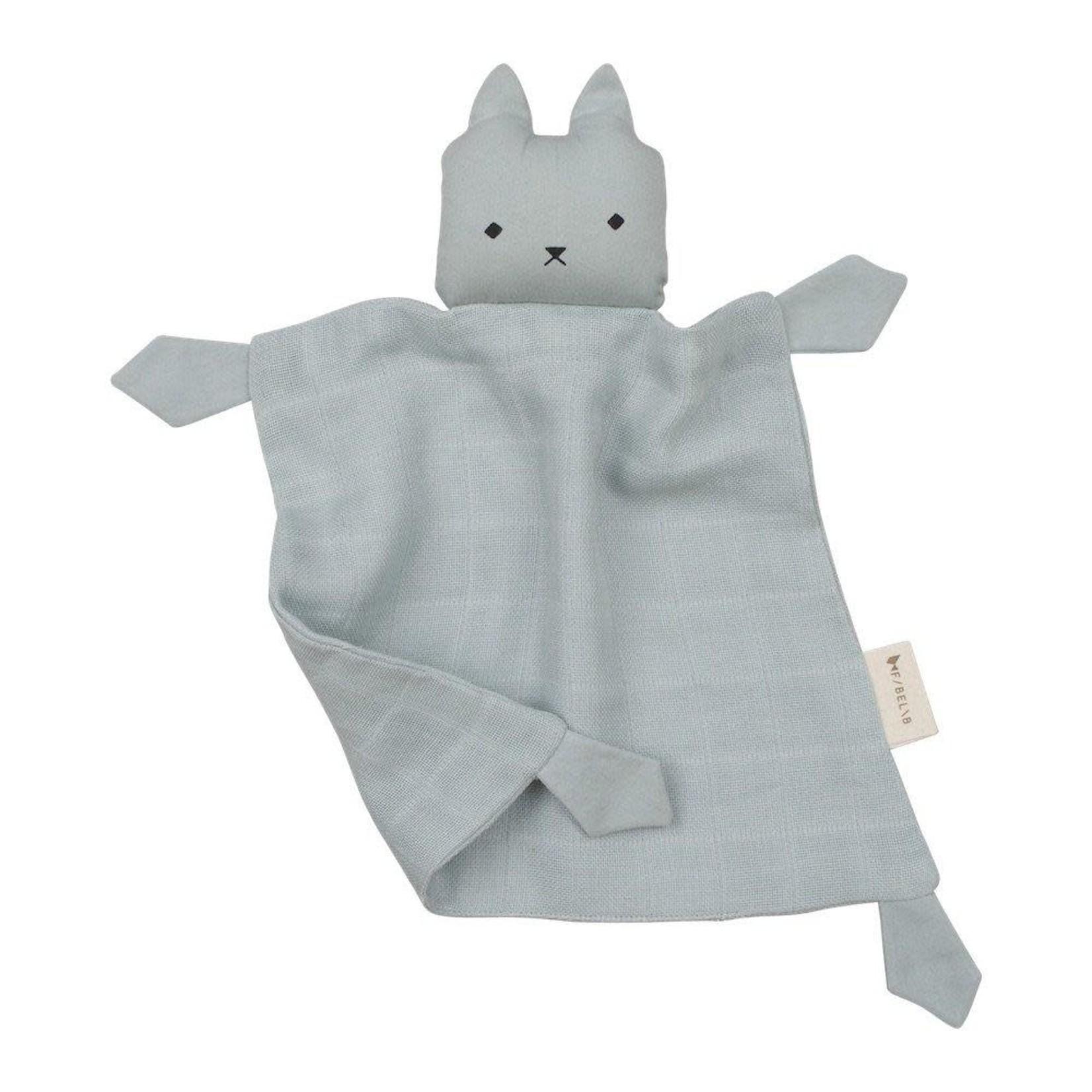 Fabelab Animal Cuddle Cat (Foggy Blue)
