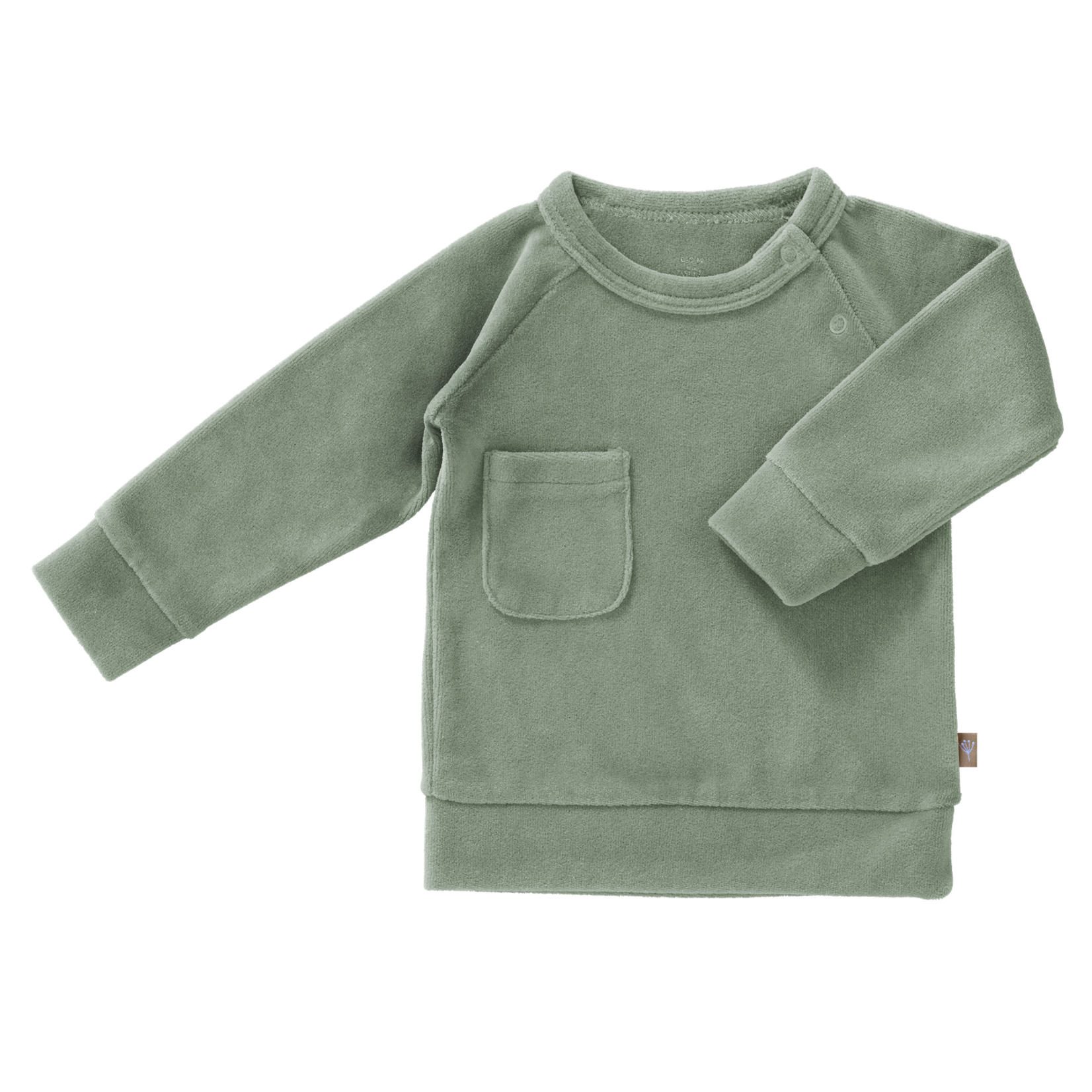 Fresk Sweater velours (Forest green)