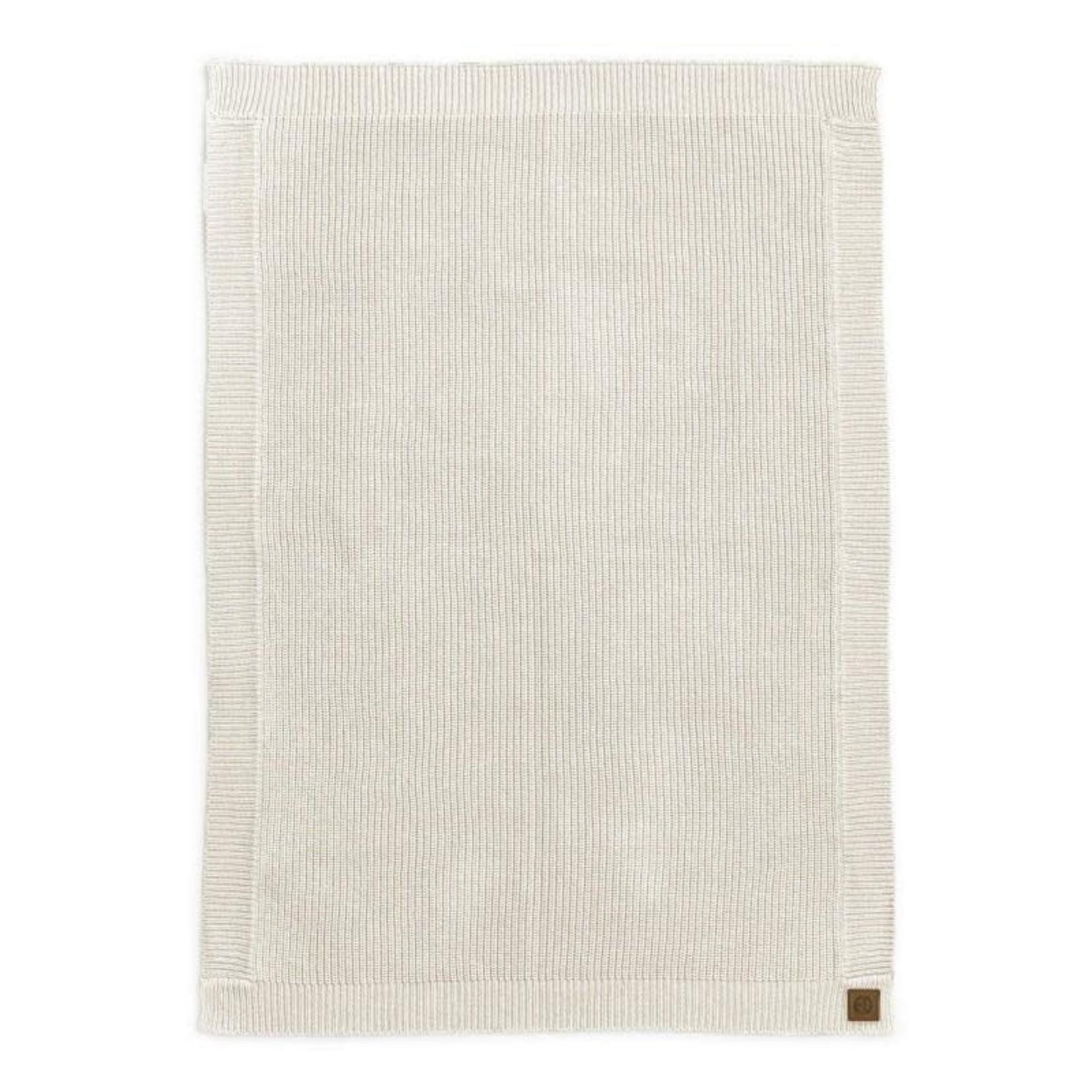 Elodie Details Gebreid deken wol (Vanilla White)